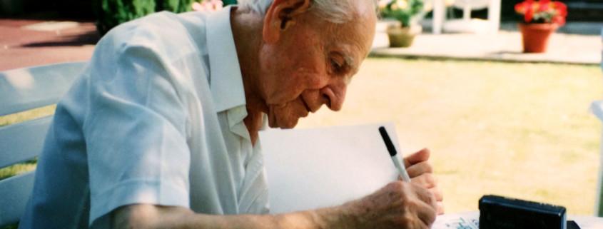 Sir Karl Popper - Photo by Adam Chmielewski